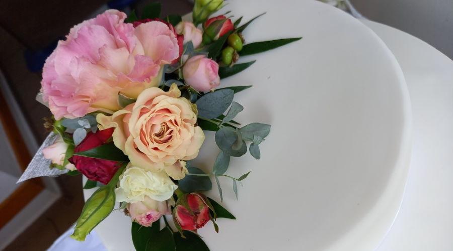 esküvői torta - Major Cukrászda